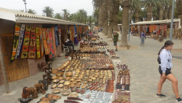 Swakopmund - trh se suvenýry