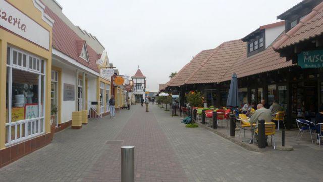 Swakopmund - pěší zóna