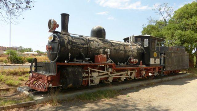 Otjiwarongo - lokomotiva