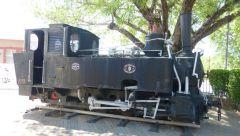 Tsumeb - muzeum - venkovní expozice