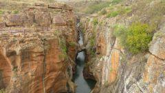 Bourke's Luck Potholes - řeka Blyde