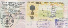 Víza Namibie a KAZA