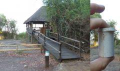 Cache v Botswaně v kempu