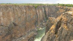 Viktoriiny vodopády - nejvýchodnější část
