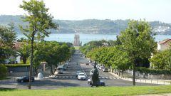 Belémská věž a řeka Tajo