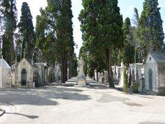 Prazeres - hrobky