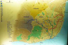 Metro v Lisabonu - mapa