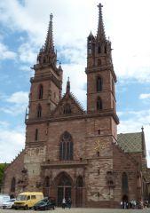 Basilej - katedrála Münster
