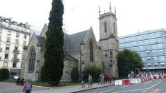 Ženeva - kostel Sv. Trojice