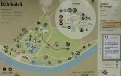 ZOO Bern - mapa