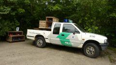 Curych - ZOO - Pantanal - policejní auto