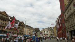 Basilej - Marktplatz