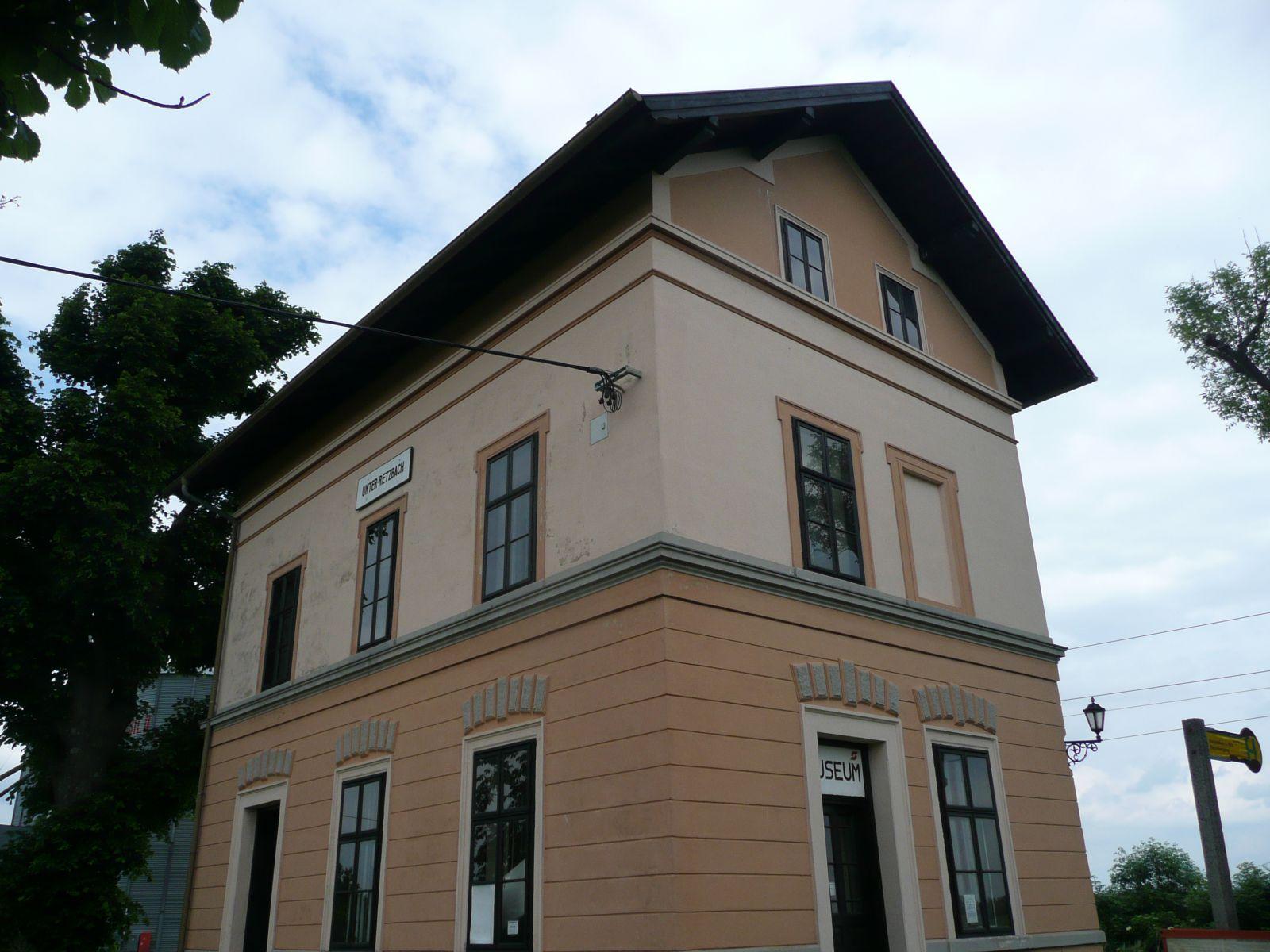Unterretzbach - nádraží