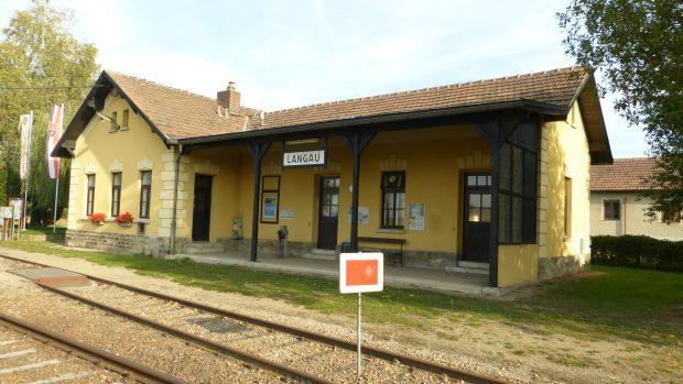 Langau - nádraží