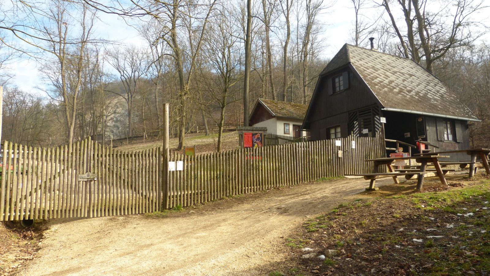 Dörfles - Wildpark Ernstbrunn - vchod