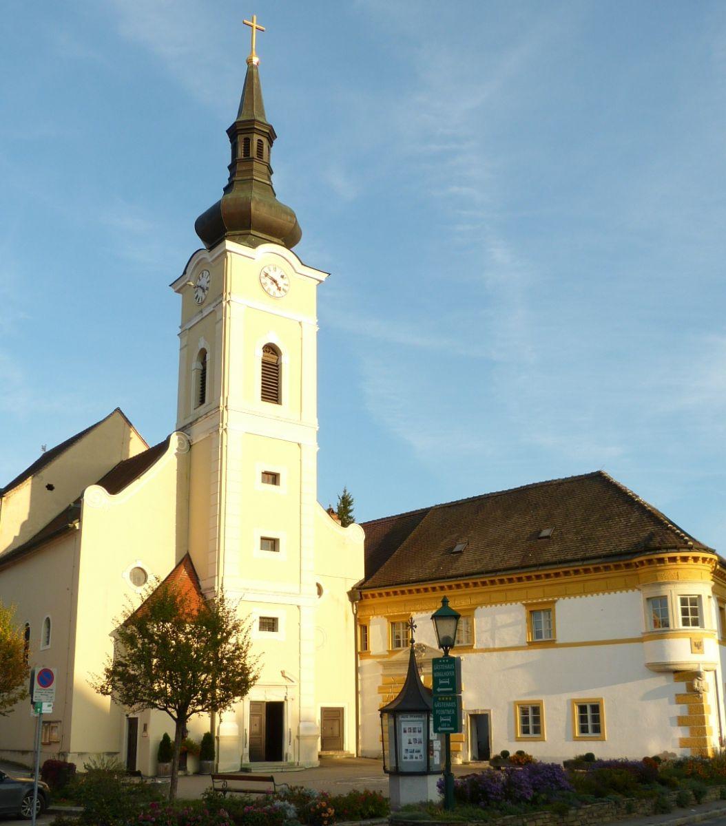 Gars Am Kamp - kostel