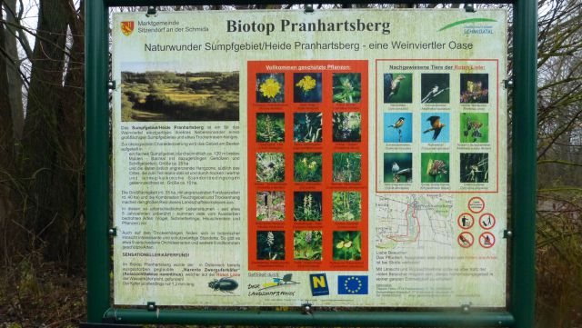 Pranhartsberg - infotabule