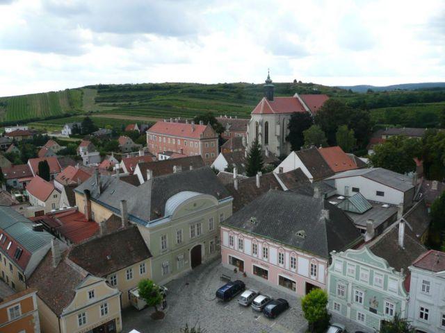 Retz - pohled na Golitsch