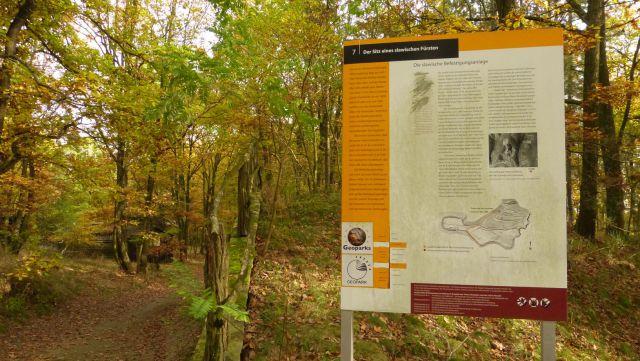 Geopark - slovanské opevnění