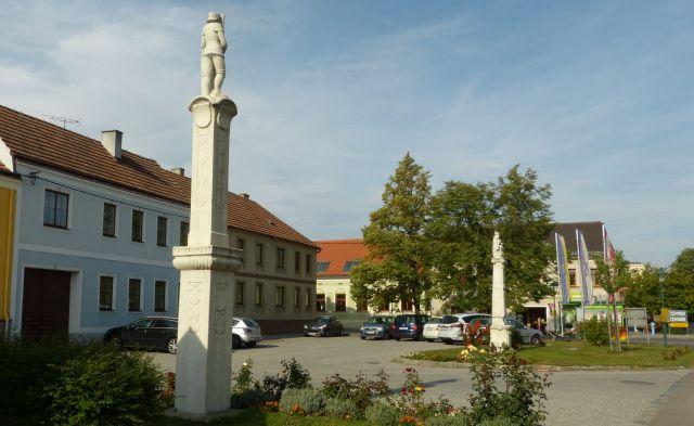 Weitersfeld - náměstí