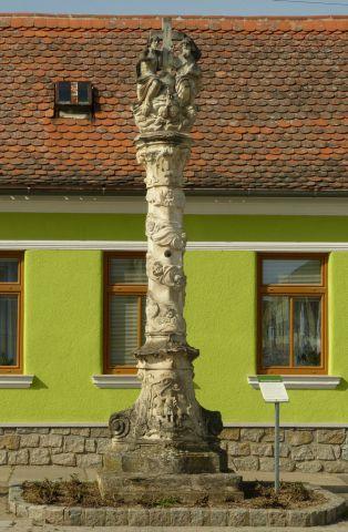 Zellerndorf - sloup sv. Trojice