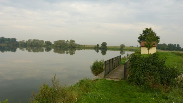 Bernhardsthal - rybník