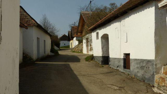 Pillersdorf - sklepní ulička