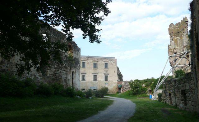 Gars am Kamp - hrad