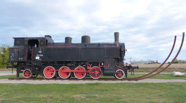 Ernstbrunn - parní lokomotiva