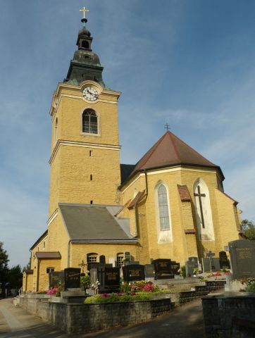 Weitersfeld - kostel sv. Martina