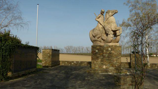Zellerndorf - památník