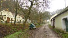 Frauendorf - sklepní ulička
