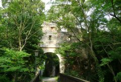 Gars am Kamp - hrad - vchod
