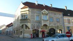 Eggenburg - Malovaný dům