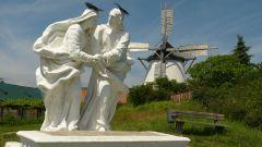 Retz - mlýn a kalvárie