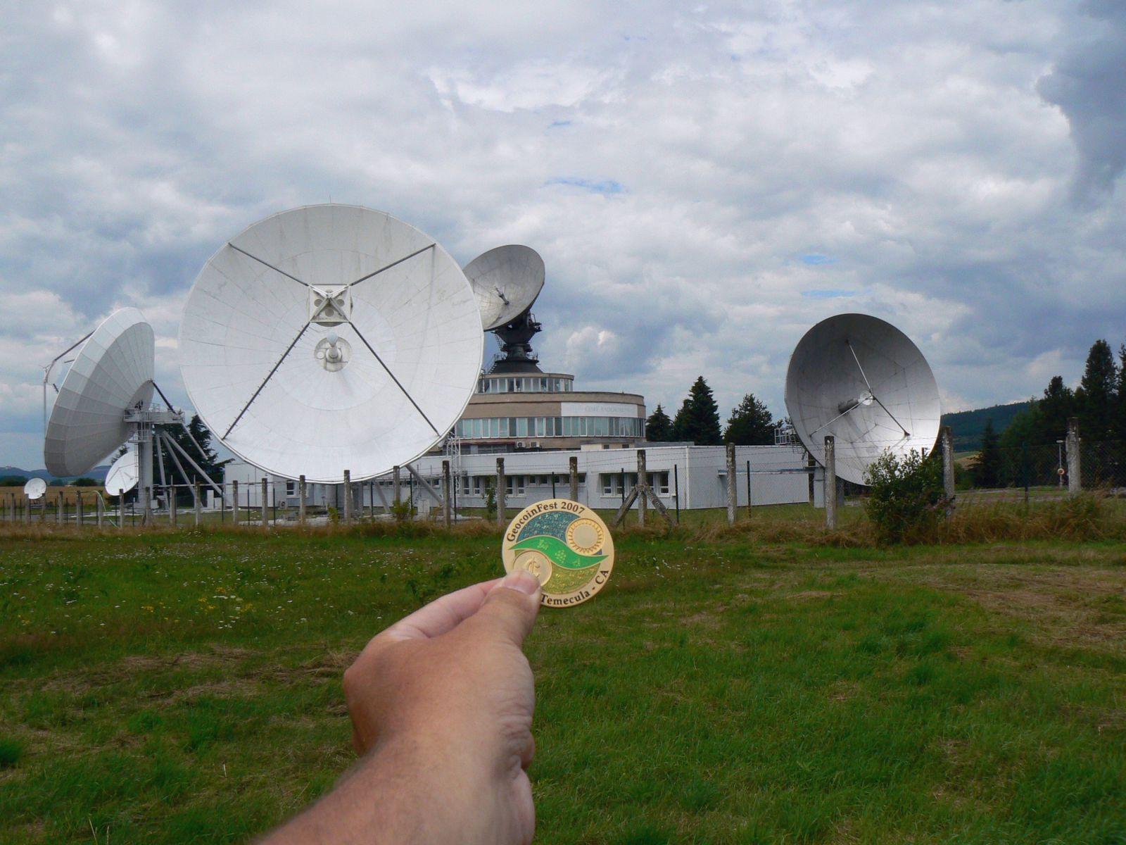 GeoCoin u Satelit cache
