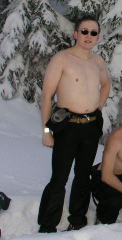 04 02 20 12.15.42 Při zimním výstupu na Choč - bylo nám trochu teplo