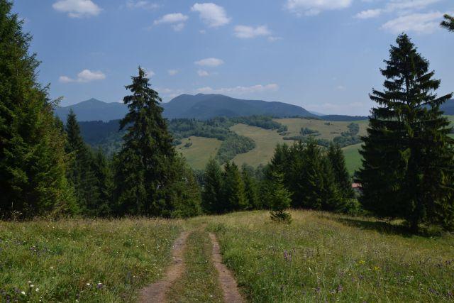 13 07 29 12.50.19 Výhled cestou mezi Kvačianskou a Prosieckou dolinou