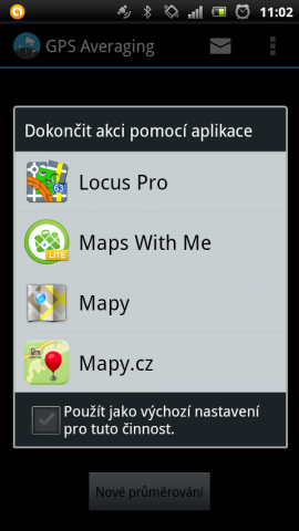 (8) Výběr Map