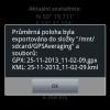 (7) Uložení Do souboru   GPX, KML