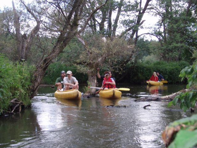 Řeka byla občas plná nástrah a u některých se dost dlouho čekalo