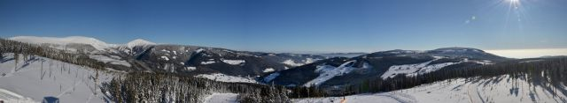 12 01 27 11.37.53 Výhled Z rohledny Na Hnědém vrchu   panorama