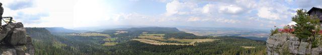 11 08 03 16.30.37 Panorama - Výhled z Hejšoviny - Bor a okolí