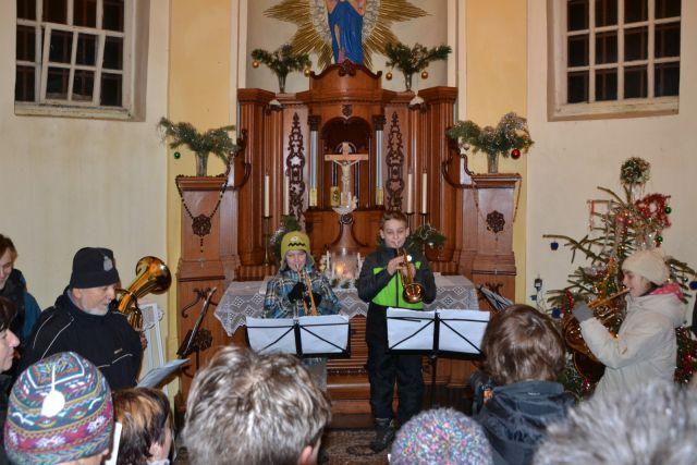 13 12 24 00.25.23 Vytrubování koled - Kvartet v Kapli panny Marie Sněžné na Hvězdě