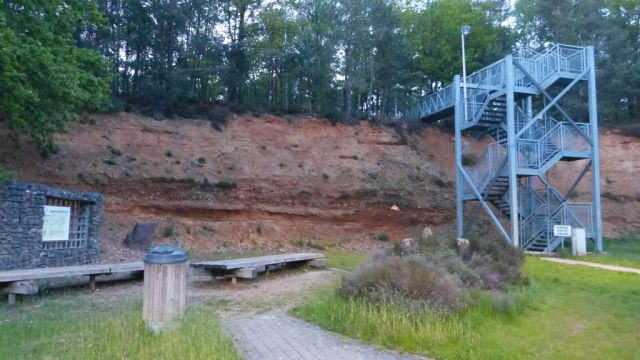 Geologická stěna Driebankenheide