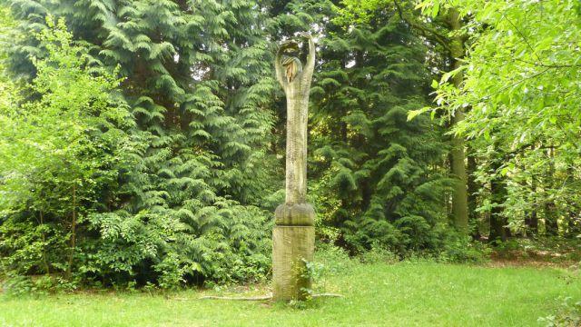 Dirigent v arboretu Heverleebos