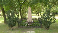 Budapešť - památník v městském parku