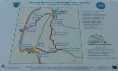Malé Slemence - cyklotrasa Slemence-Užhorod-Čop