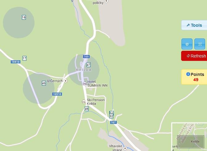 Gg Mapa Kesi Geoget Geocaching Cz