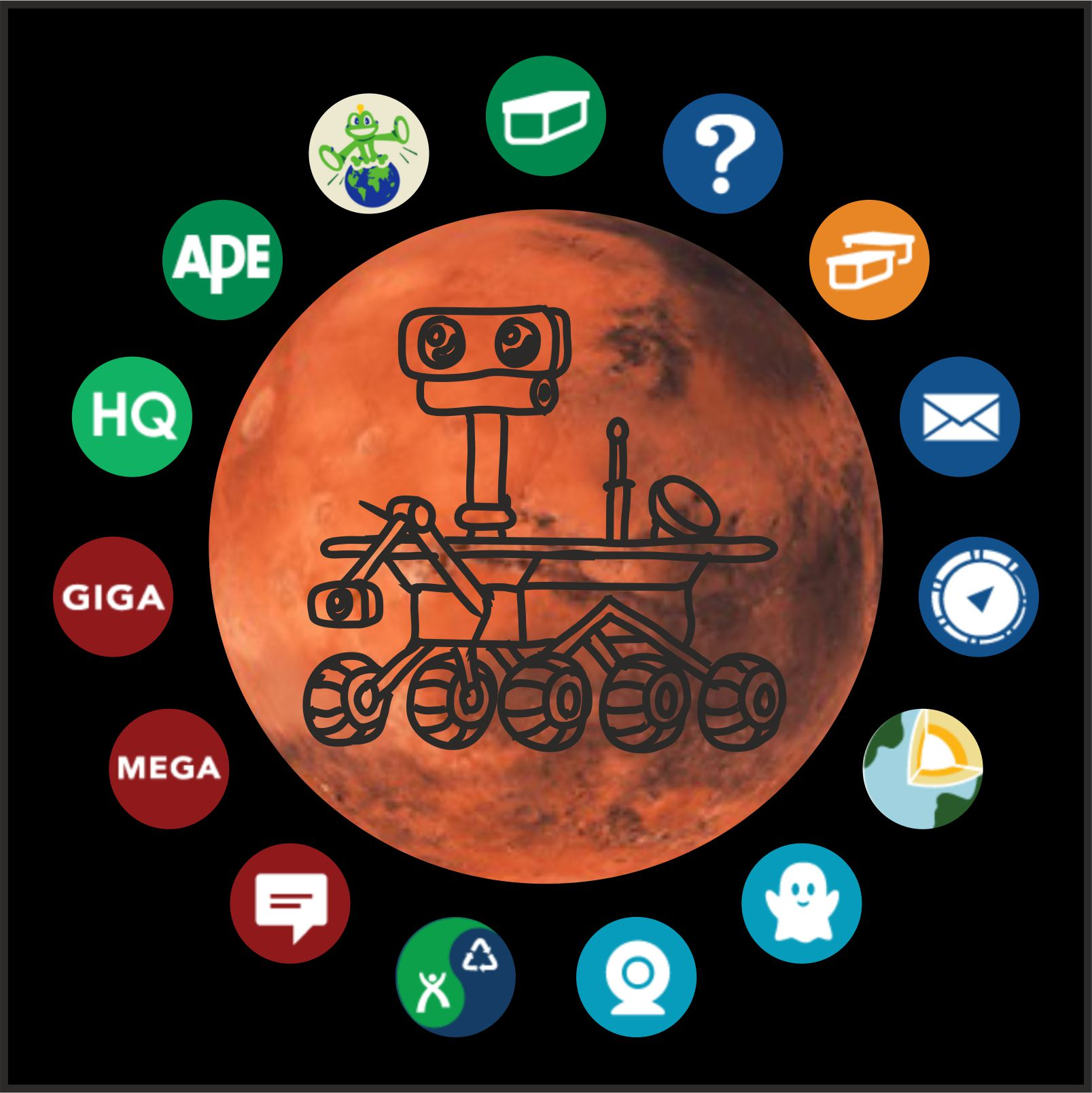 Tébéčko na Marsu